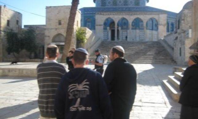 לאחר הסגר: עשרות יהודים עולים להר הבית