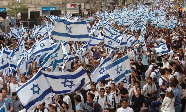 מחקר חדש: יותר דגלים - יותר אחדות בעם ישראל