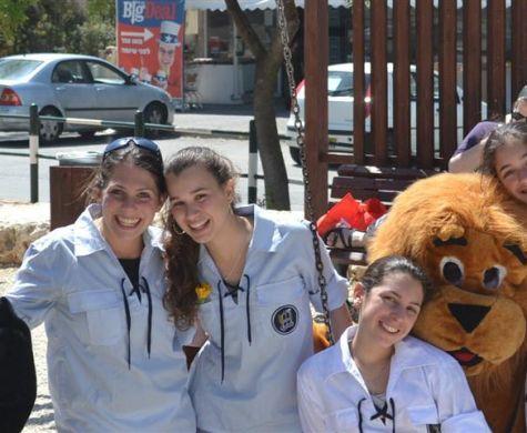 נוער אפרת מגייס תרומות למען ילדים מיוחדים