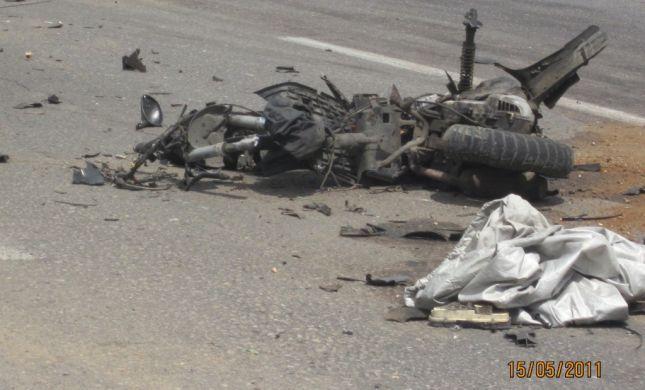 תמונות מפיגוע הדריסה הבוקר בתל אביב
