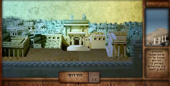 סרטון אנמיציה חדש ליום ירושלים: 4000 שנה ב-5 דקות