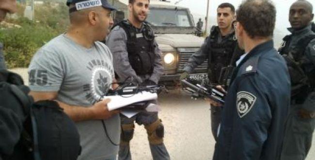 """תג מחיר של המשטרה נגד משרדי """"הקול היהודי"""" ביצהר"""