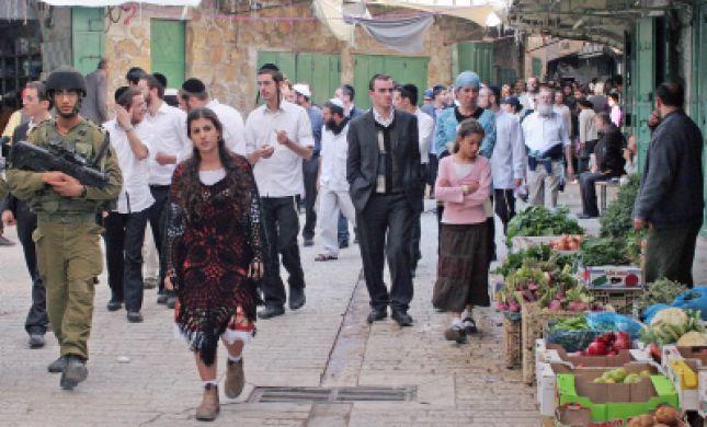 """בג""""ץ הכריע: רחוב דוד המלך בחברון לא יפתח לתנועת ערבים"""