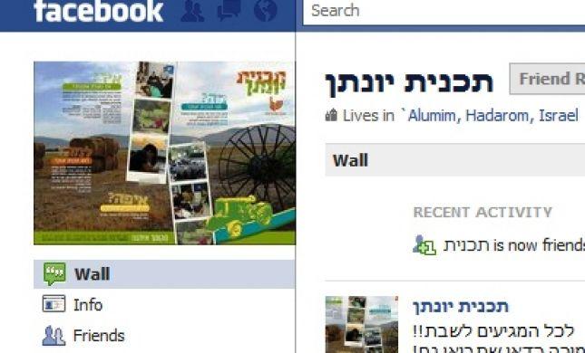 גרעין הפייסבוק הראשון: מחברים בפייסבוק לחברים בגרעין