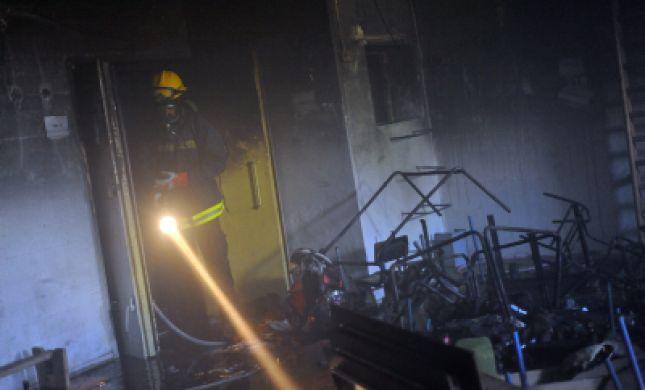 שרפו את המועדון: הוצת סניף עולים של בני עקיבא בנתניה