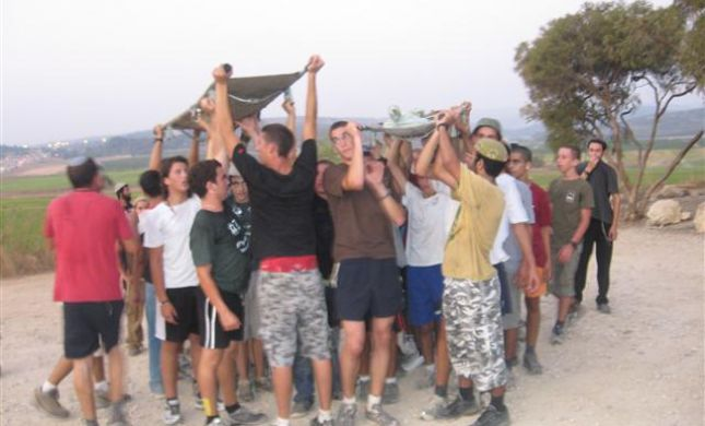 'מובחרי השומרון' סיימו שנה במסע אלונקות בלטרון