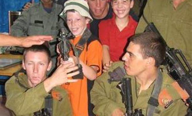 """חיילים ליום אחד: הילדים המיוחדים של """"נופשון שומרון"""""""