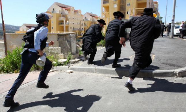 המשטרה עצרה שלושה מראשי הפגנות הקנאים בבית שמש
