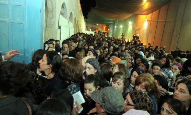 """י""""א בחשון: אלפים עלו לציון רחל אימנו בבית לחם"""