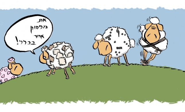 קריקטורה לכבוד שבת: פרשת ויצא