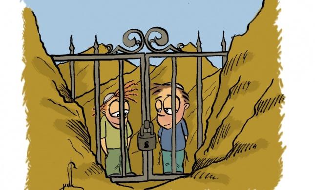 קריקטורה לכבוד שבת: פרשת בשלח