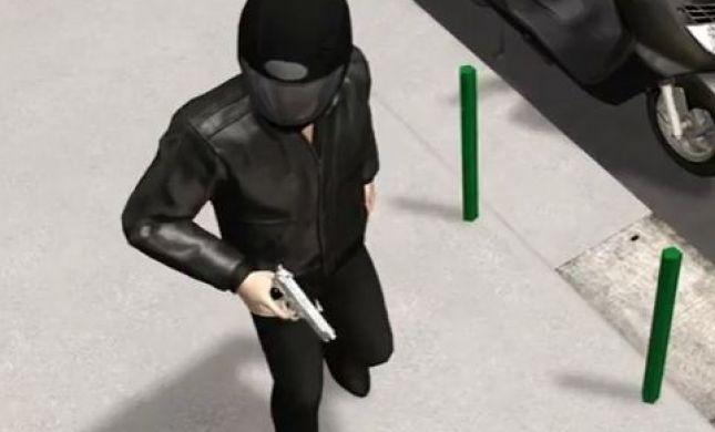 שחזורי אנימציה של הפיגוע בטולוז ושל חיסול המחבל