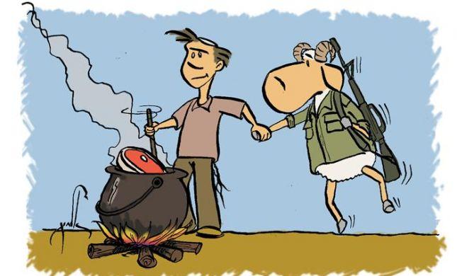 קריקטורה לכבוד שבת: פרשת תצוה