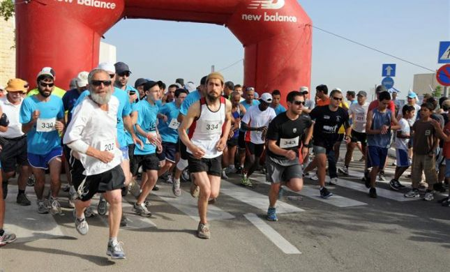 לראשונה במרוץ גוש עציון: 1,000 רצים ושופט עליון