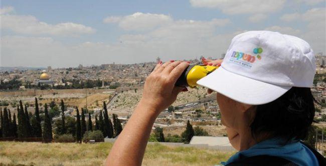 יום ירושלים: שיא מטיילים בגוש עציון