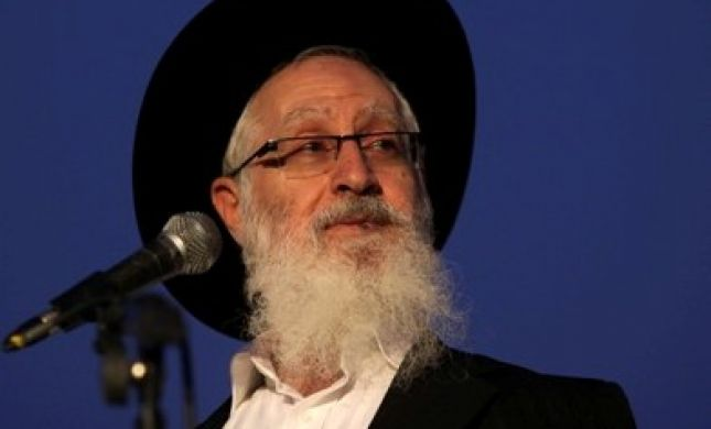 הרב יעקב יוסף: חברי הכנסת הם צבועים וברברנים