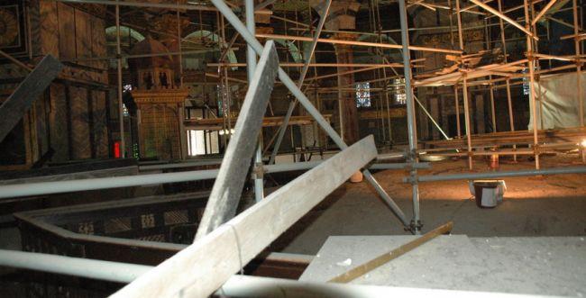 מקור ראשון: אבן השתייה בהר הבית הפכה לאתר בנייה