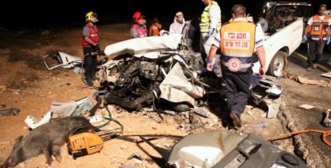כך דיווח עיתון 'המודיע' על התאונה בשומרון