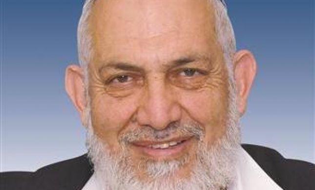 הרב נסימי: לא צריכים במפלגה המאוחדת את הרב אמסלם