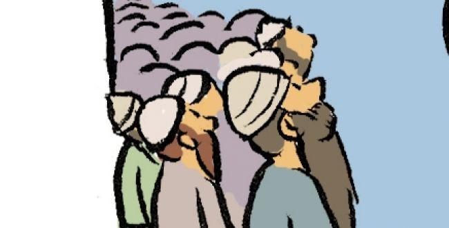 קריקטורה לכבוד שבת: פרשת וילך