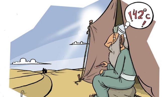 כחום היום: פרשנות חדשה לסיפור אברהם אבינו והמלאכים