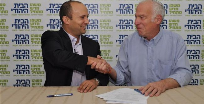 יש איחוד: נחתם הסכם בין הבית היהודי לאיחוד הלאומי