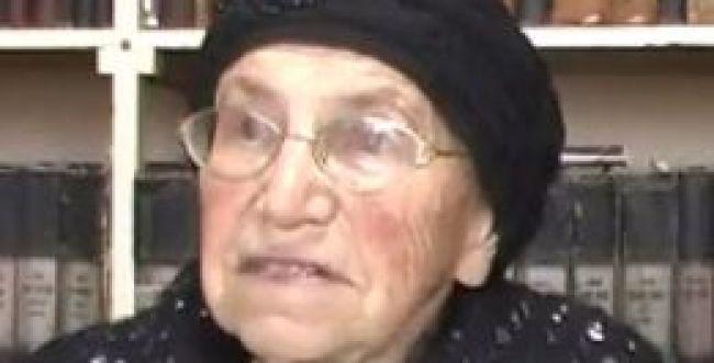 """ברוך דיין האמת: נפטרה הרבנית רחל נריה ז""""ל"""