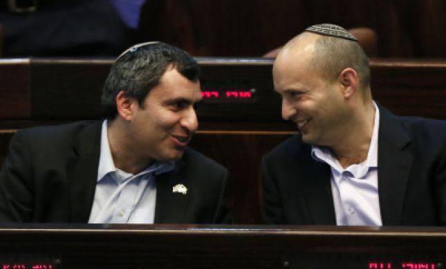 זמנית: בנט בועדת חוץ ובטחון; סלומינסקי ואריאל בכספים