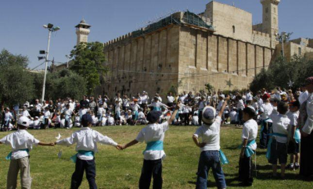 בחול המועד פסח: ישראל חוגגת בחברון