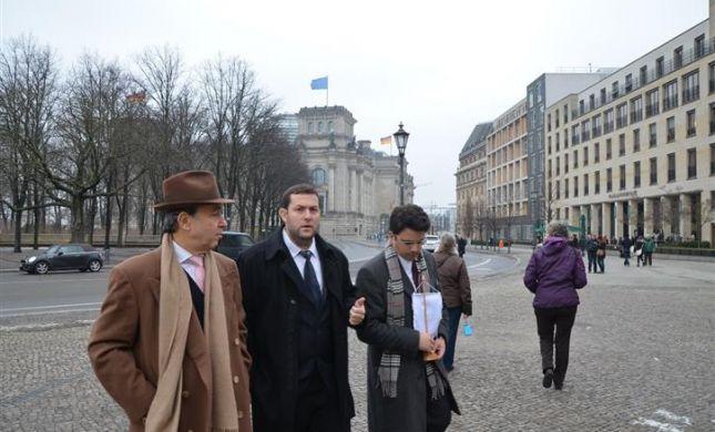 משרד החוץ של השומרון כובש גם את ברלין ושטוקהולם