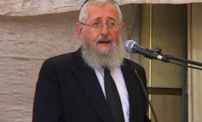 מועמד חדש לרבנות הראשית: הרב שלמה דיכובסקי