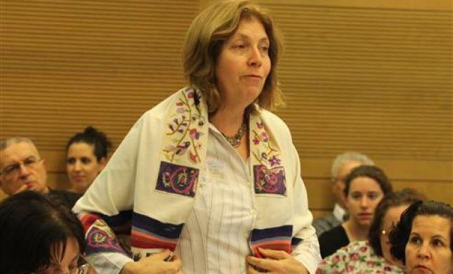 נשות הכותל מביאות את הפרובקציות גם למשכן הכנסת