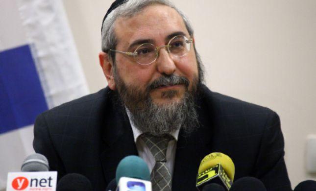 הבית היהודי מאיימים: נריץ את הרב אמסלם לרבנות