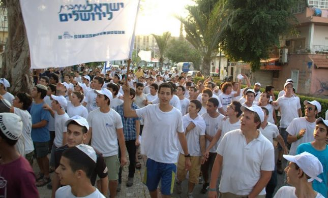 צפו: דרום תל אביב התחברה לירושלים בריקודגלים המוני