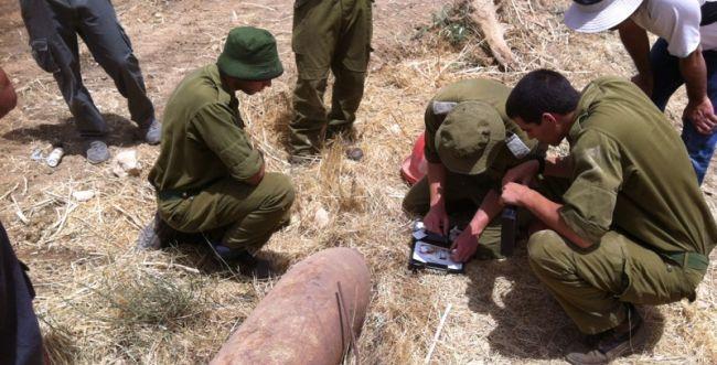 אחרי 60 שנה: פצצה היסטורית התגלתה בנגב