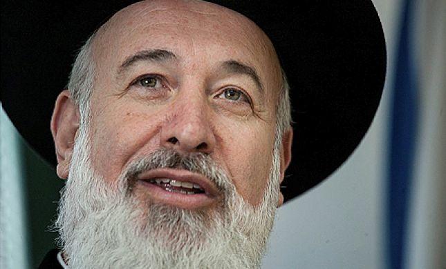 מסע ההשמצות נגד הרב הראשי לישראל יורד לפסים אישיים וצהובים