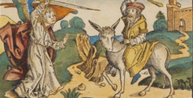 מה למד בלעם מאתונו, ומיהו המלאך הנצב בדרכו