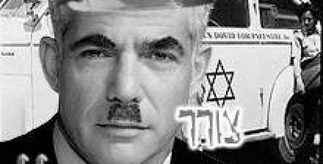הסתה ברשת: תמונת יאיר לפיד כאדולף היטלר