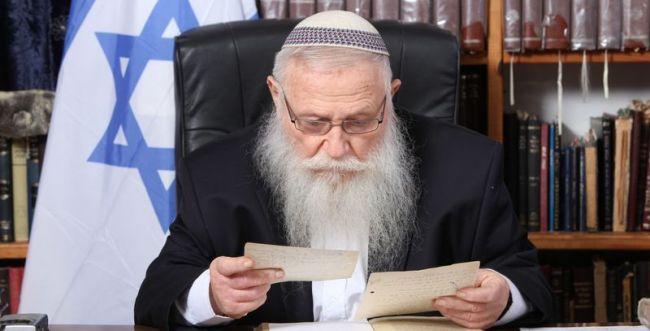 """הרב דרוקמן: """"מעשי הנבלה באבו גוש נפשעים ומנוגדים לתורה"""""""