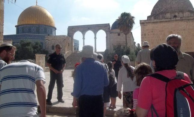חודש אב: מאות יהודים עולים להר הבית בכל יום