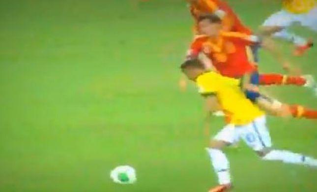 צפו בברזיל זוכה בגביע הקונפדרציות אחרי 3:0 על ספרד