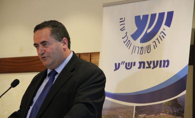 """השר כץ: """"ההקפאה היא משגה וכתם מוסרי על מדינת ישראל"""""""