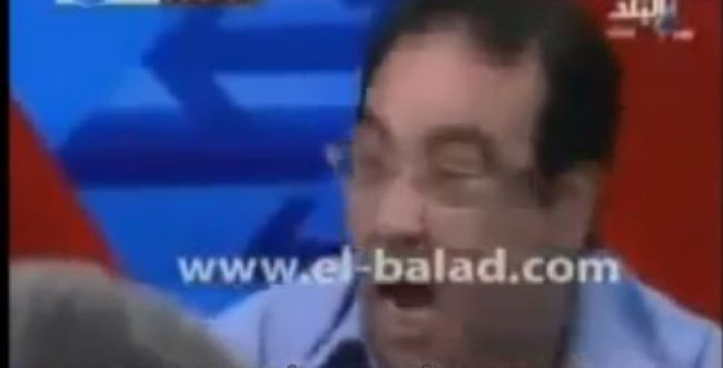 המרואיין המצרי מתעצבן על בר מצווה של חילונים