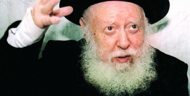 """הרב אברהם שפירא זצ""""ל היה דואג גם לחרדים"""