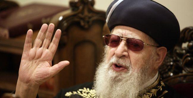 שיפור קל במצבו של הרב עובדיה יוסף: במגמת התעוררות