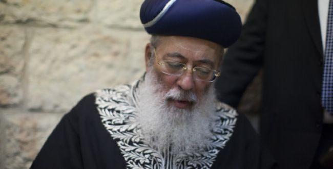 הרב עמאר חיבר תפילה לשלום החטופים