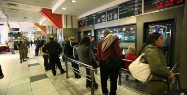 סדרנים יזהירו נוסעים מזיהום אוויר בתחנה המרכזית