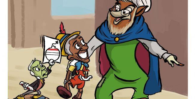 קריקטורה: רוחאני מצליח לעבוד על המערב
