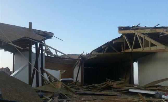 """צפו: כך הרסו כוחות צה""""ל בית באלון מורה"""