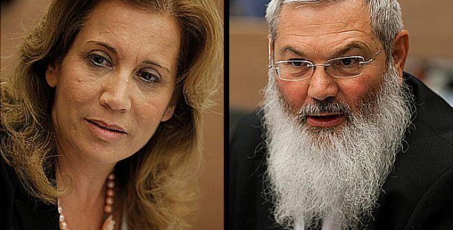 חזית נוספת: הרב אלי בן דהן נגד עליזה לביא